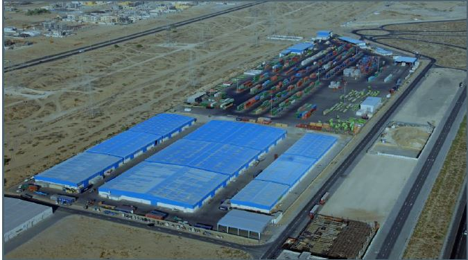 LOLO INLAND CONTAINER DEPOT